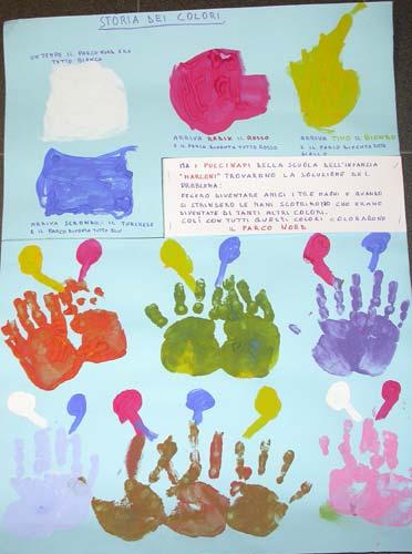 Lavoretti creativi per l39accoglienza a scuola scuola t for Cartelloni scuola infanzia